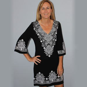 Black & White Dress- $26 with Free Shipping