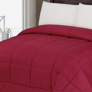 1-Piece Reversible Super-Soft Comforter- $46 with Free Shipping