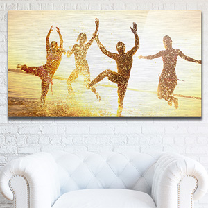Custom 10x7 Photo Metal Print - $7.99