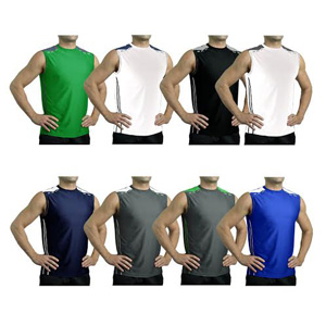 Men's Reebok Reflective Performance Sleeveless Shirts- $12.50 with Free Shipping