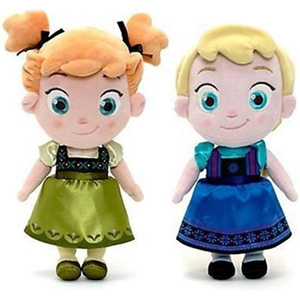 Frozen Inspired Anna or Elsa Plush Toy - $23 with Free Shipping!