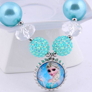 Frozen Inspired Elsa Snowflake Necklace - $10 with FREE Shipping!