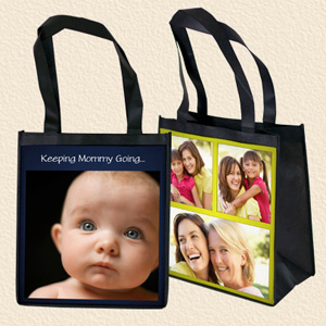 2 Reusable Photo Grocery Bags - $15 with FREE Shipping!