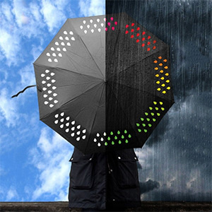 Color Changing Umbrella - $26 with FREE Shipping!