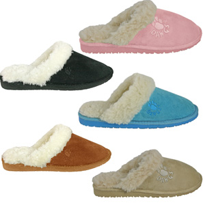 Women's Microfiber Scuff- $26 with Free Shipping