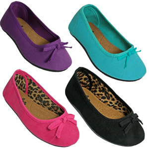 Toddler/Youth Kaymann Ballet Flats- $13.50 with Free Shipping