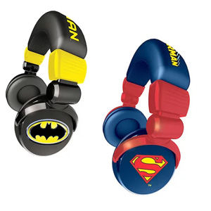 iHip DC Comics Headphones - Assorted Styles- $23 with Free Shipping