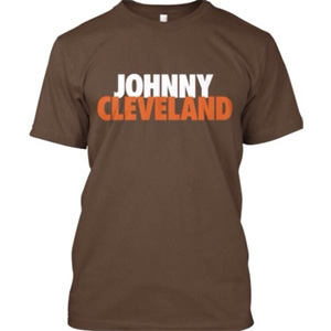 Johnny Manziel- Johnny Cleveland T-Shirt - $19 with FREE Shipping!