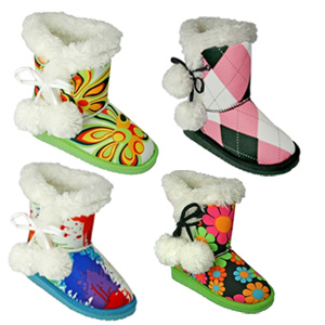 Toddler/Kids Loudmouth Side-tie Boots- $31 with Free Shipping