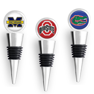 Collegiate Inspired Wine Stopper- $11.50 with Free Shipping