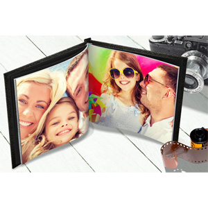 8 x 8 Leather Photo Book - $9.99!