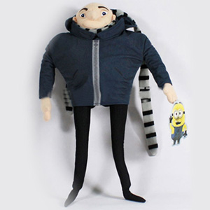 "13"" Despicable Me Inspired Gru Plush - $24 with FREE Shipping!"