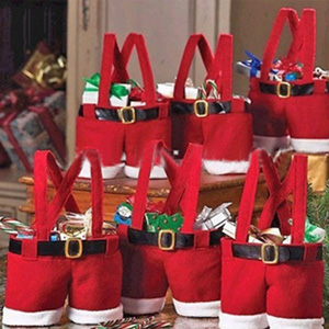 3 Santa Pants Gift Bags - $13 with FREE Shipping!