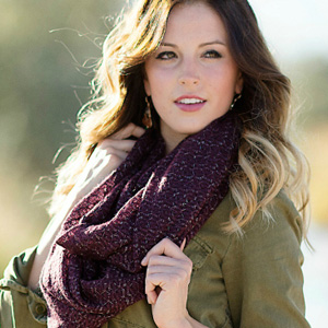 Metallic Infinity Scarf - $10 with FREE Shipping!