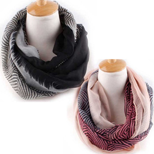 Stripe Infinity Scarf - $15 with FREE Shipping!