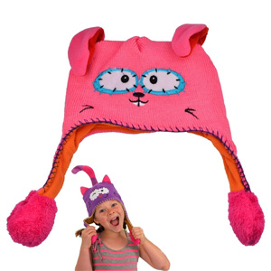 Children's Animal Hat with Inflatable Ears - $18 with FREE Shipping!