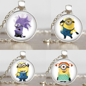 Minion Inspired Necklace- $10 with Free Shipping