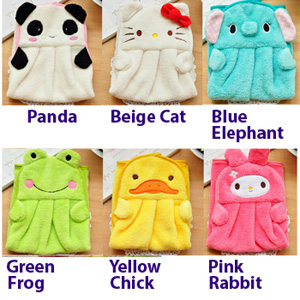 3 Piece Kid's Animal Hand Towel Set - $10 with FREE Shipping!