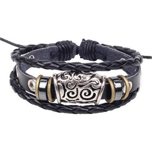 Unisex Multi-Layer Retro Leather Bracelet - $13 with FREE Shipping!