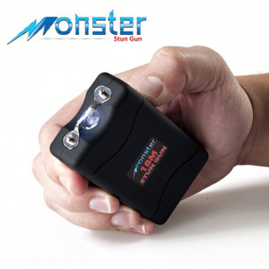 Monster Rechargeable Stun Gun with Flashlight- $20 with Free Shipping