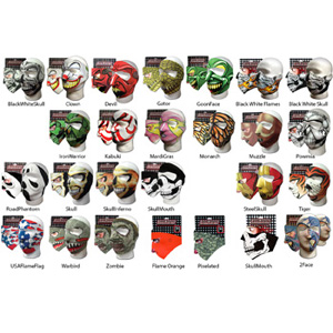 Skull Skinz Face Masks - $11.25 with Shipping!