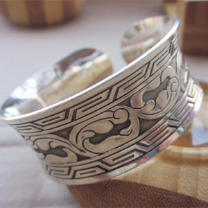 Silver Plated Retro Bracelet - Two Styles to Choose From - $13 with FREE Shipping!