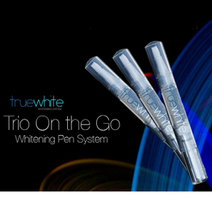 3 Pack truewhite On-the-Go Teeth Whitening Pens - $12 with FREE Shipping!