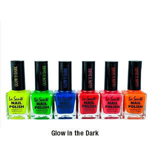 6-Pack: La Sante Nail Polish - 4 Styles - $19 with Free Shipping