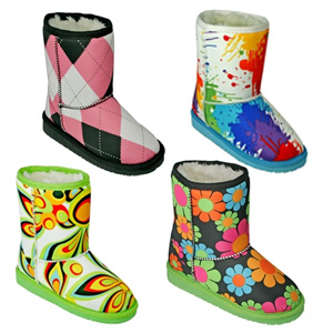 Toddler/Kids Loudmouth Aussie-Style Boots- $31 with Free Shipping