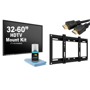 5 Piece HDTV Slim Mounting Kit Compatible for 32 - 60