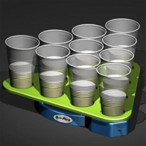 Two Rotating Beer Pong Racks - $35 with FREE Shipping!