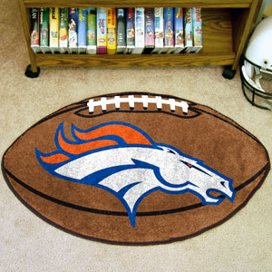 Officially Licensed NFL Round Team Rug- $21.95
