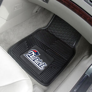 Deluxe Heavy Duty Vinyl Car Mat Set with Molded 3D NFL Team Logo- $32.95