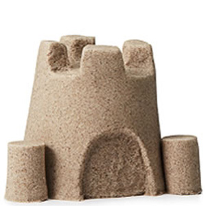 Colorful Molds with Fun Kinetic Play Sand- $17.50 with Free Shipping