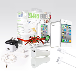 Apple Certified 7 Piece Smart Bundle for iPhone 4, 5, or 6 - $17 with FREE Shipping!