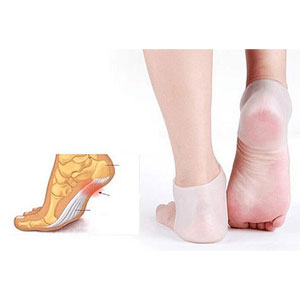 Four Pairs Silicone Heel Foot Socks - $20 with FREE Shipping!