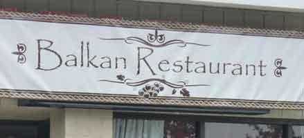 Have your taste buds travel with Balkan Restaurant