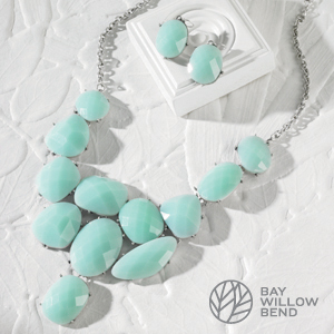 Taylor Mint Necklace and Earring Set - $23 with Free Shipping