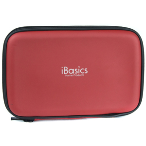 iBasics Portable Speaker Case with Rechargeable Battery (Red)- $18.50 with free shipping