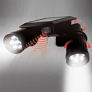 TwinSpot Solar Motion Light - $44.99 with FREE Shipping!