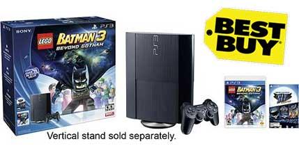 Sony - PlayStation 3 500GB LEGO Batman 3 Collection Bundle