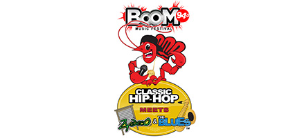 "Boom Music Festival ""Classic Hip Hop Meets Zydeco & The Blues"""