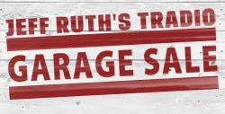 Jeff Ruth's Tradio Garage Sale