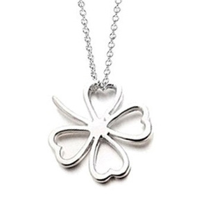 Good Luck 925 Sterling Silver Plated Necklace - $13 with FREE Shipping!