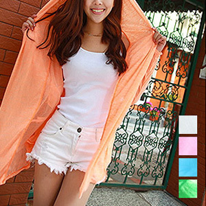 Lightweight Hooded Cover up- $10 with Free Shipping