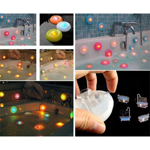 Set of 4 Pool, Bath and Hot Tub Lights- $17 with Free Shipping