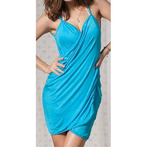 Turquoise Bikini Wrap Dress - LIMITED QUANTITY - $9 with FREE Shipping!