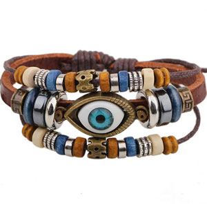 Evil Eye Boho Bracelet - $13 with FREE Shipping!