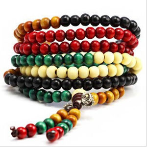 Bohemian Vintage Ebony Wood Beads Bracelet - $13 with FREE Shipping!