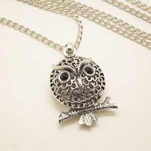 Hoot Owl Necklace - $14 with FREE Shipping!
